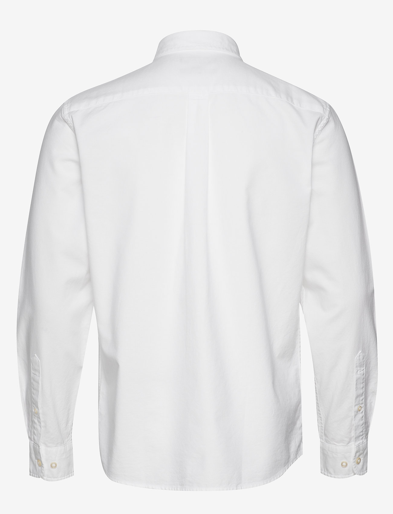 Banana Republic - I UT LOGO OXFORD SOLID - basic shirts - vwhite - 1
