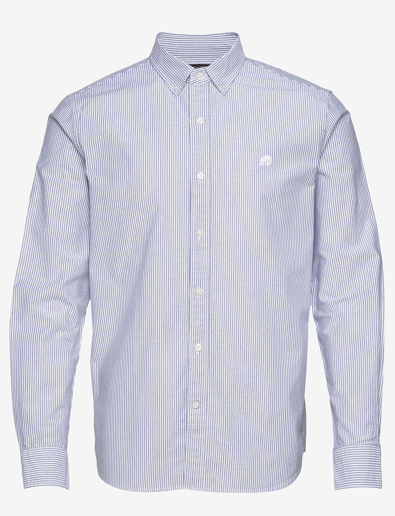 Banana Republic - I UT LOGO OXFORD STRIPE - oxford shirts - blue violet - 0