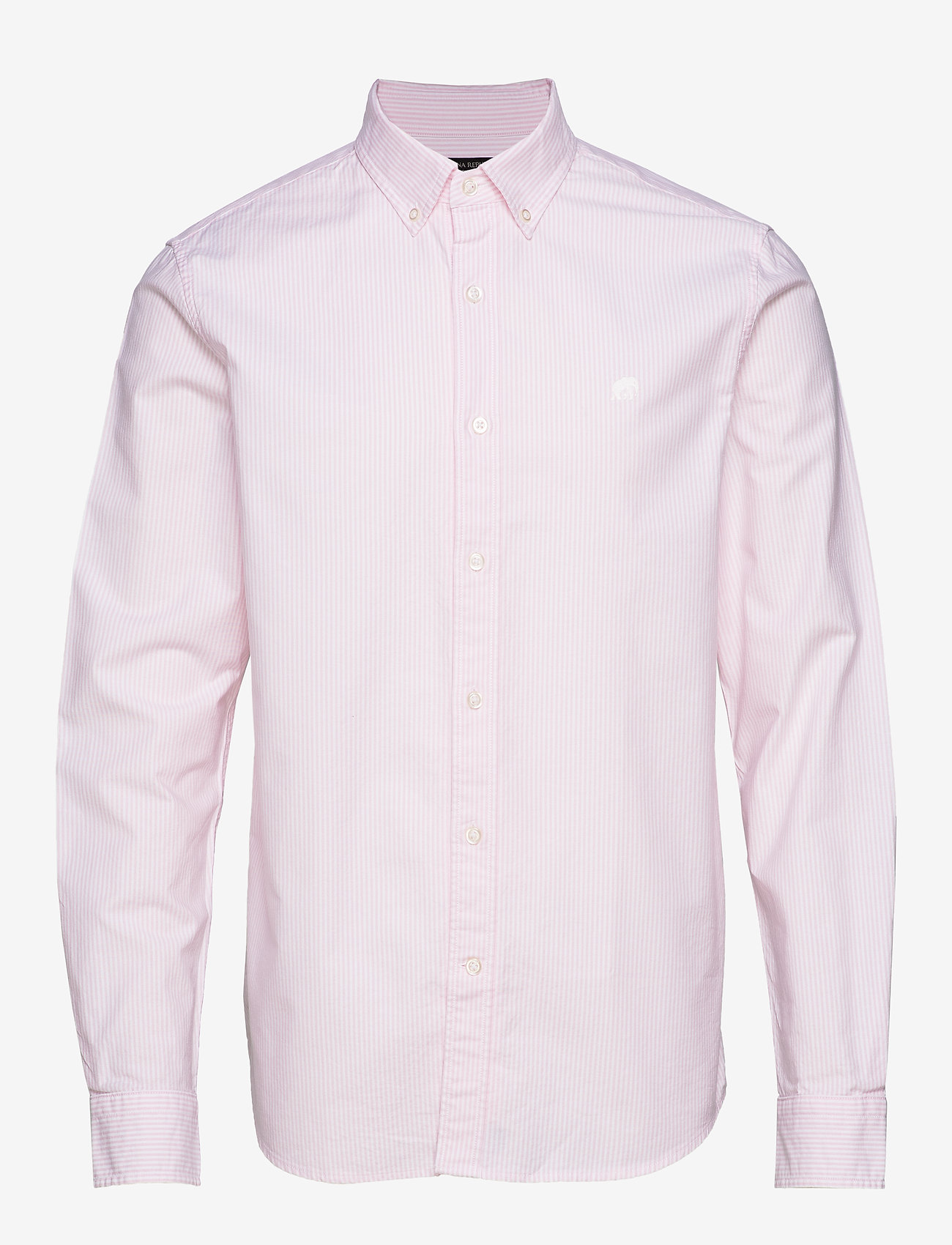 Banana Republic - I UT LOGO OXFORD STRIPE - oxford shirts - pink mist - 0