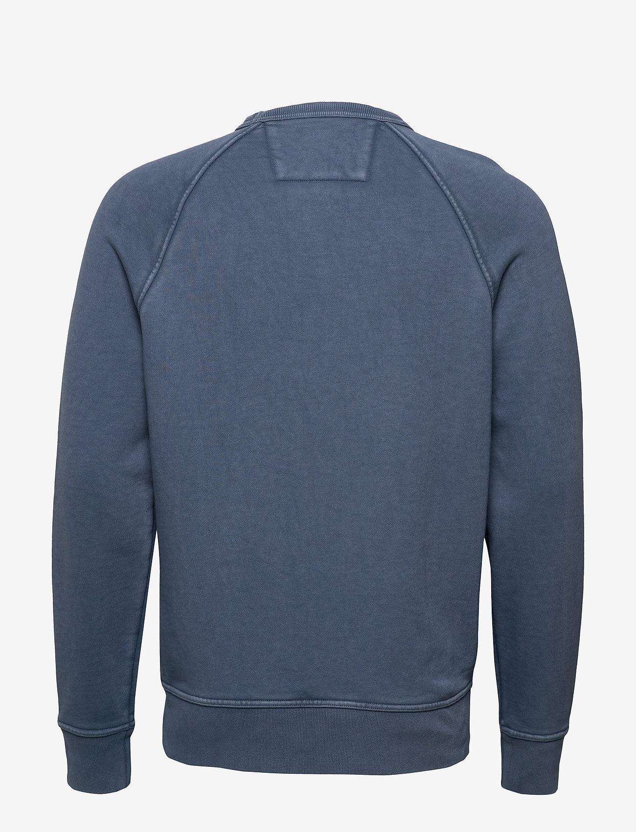 Banana Republic - French Terry Sweatshirt - basic sweatshirts - blue shadow - 1