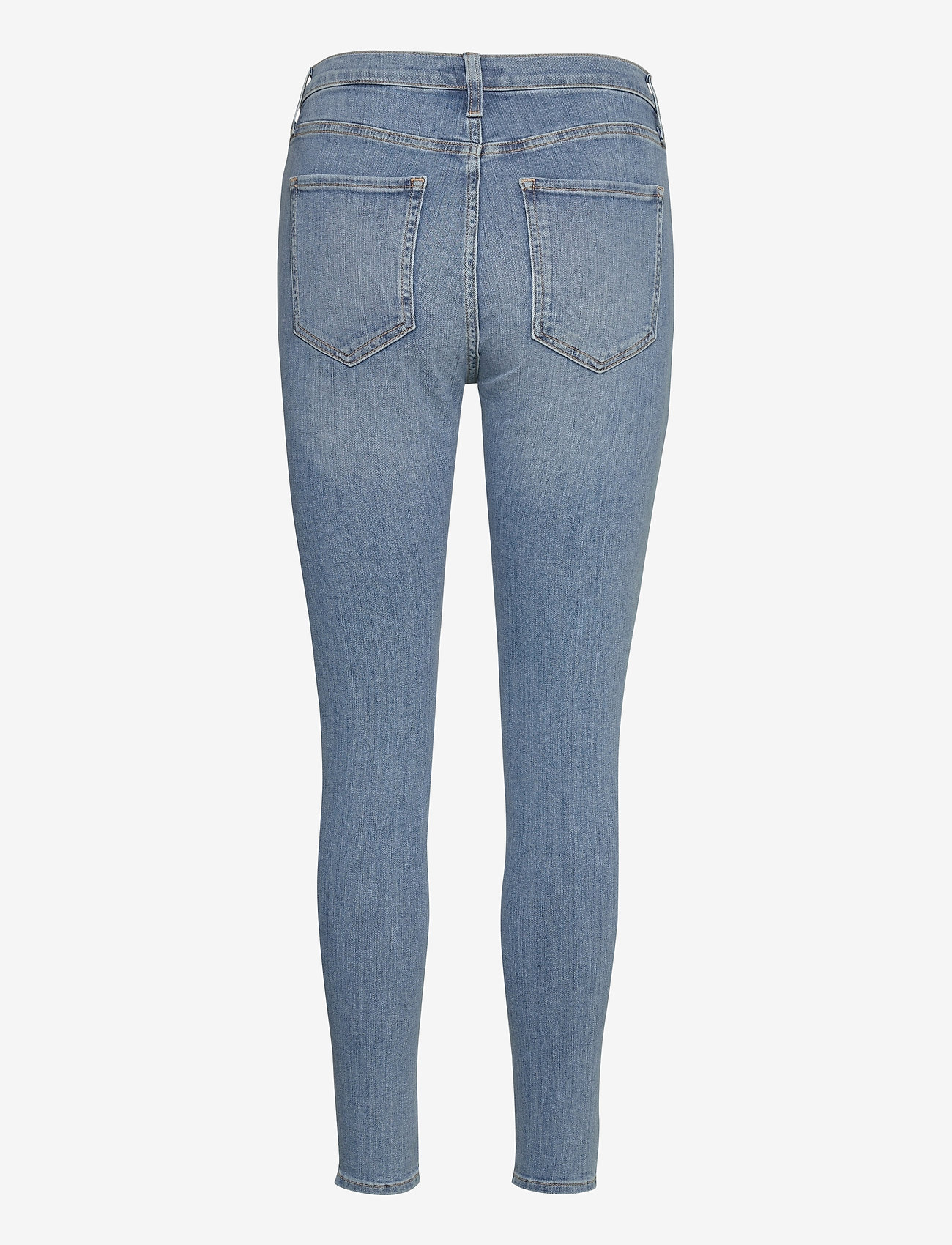 Banana Republic - High-Rise Skinny Button-Fly Jean - slim jeans - medium wash - 1