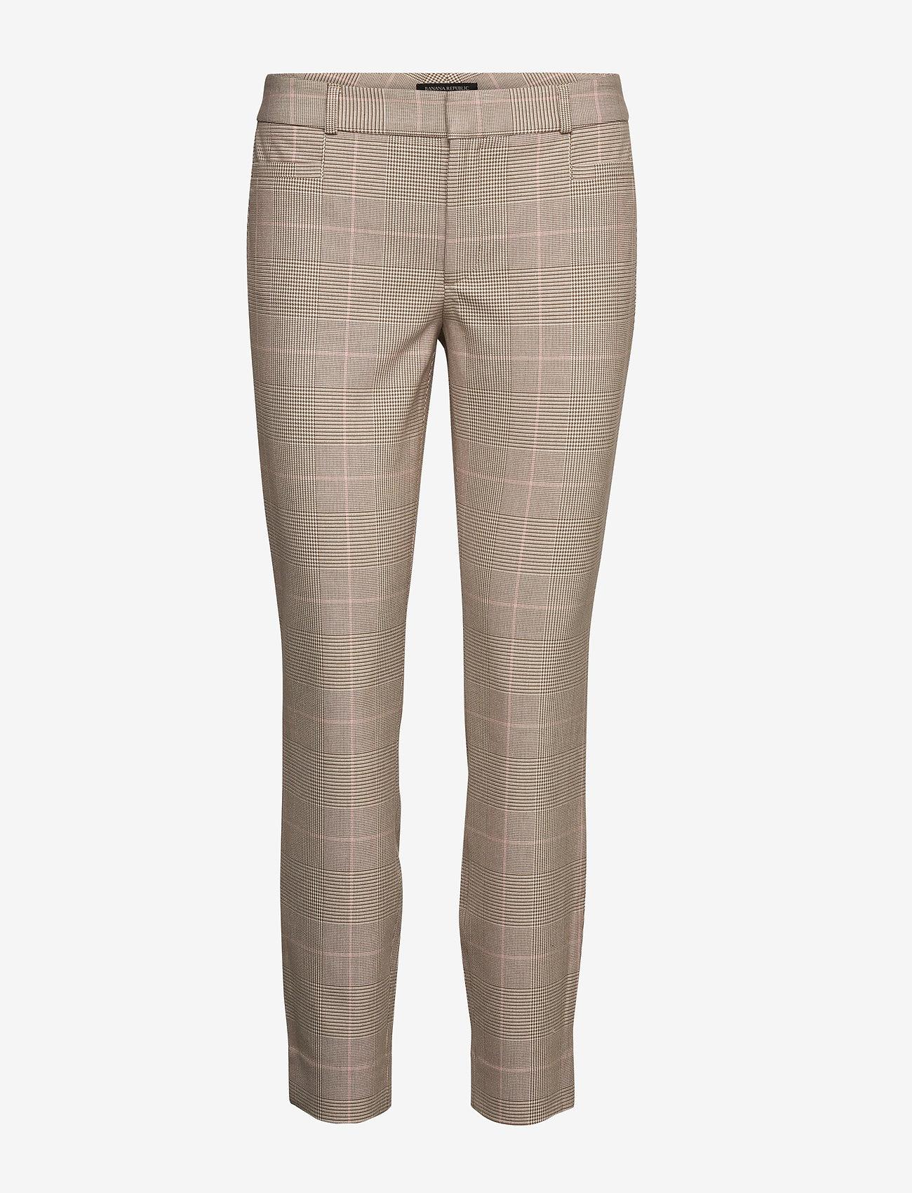 Banana Republic - Mid-Rise Skinny Sloan Pant - broeken med skinny fit - sanded brown - 0