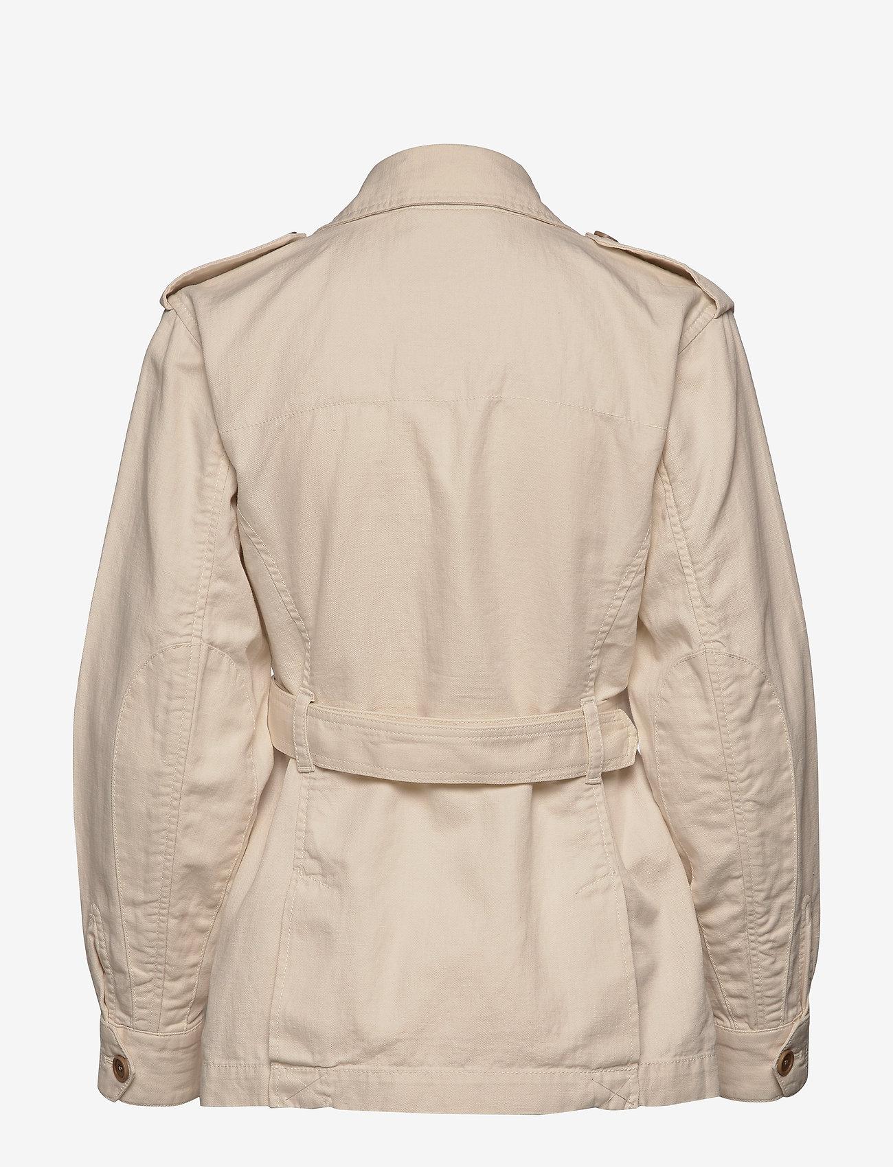 Banana Republic Heritage Cotton-linen Safari Jacket - Vestes Et Manteaux