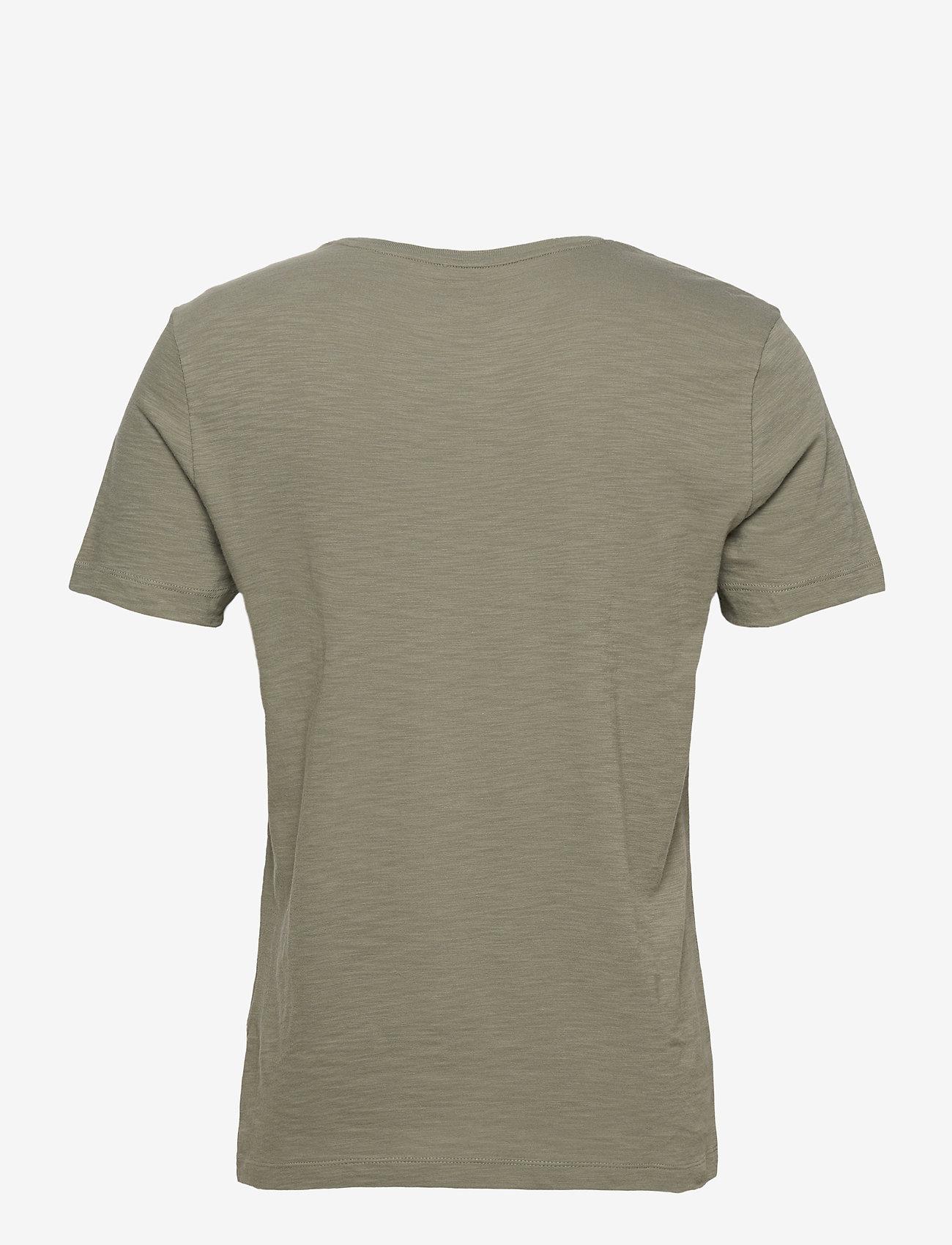 Banana Republic - I LOGO SOFTWASH ORGANIC TEE - basic t-shirts - autumn olive - 1