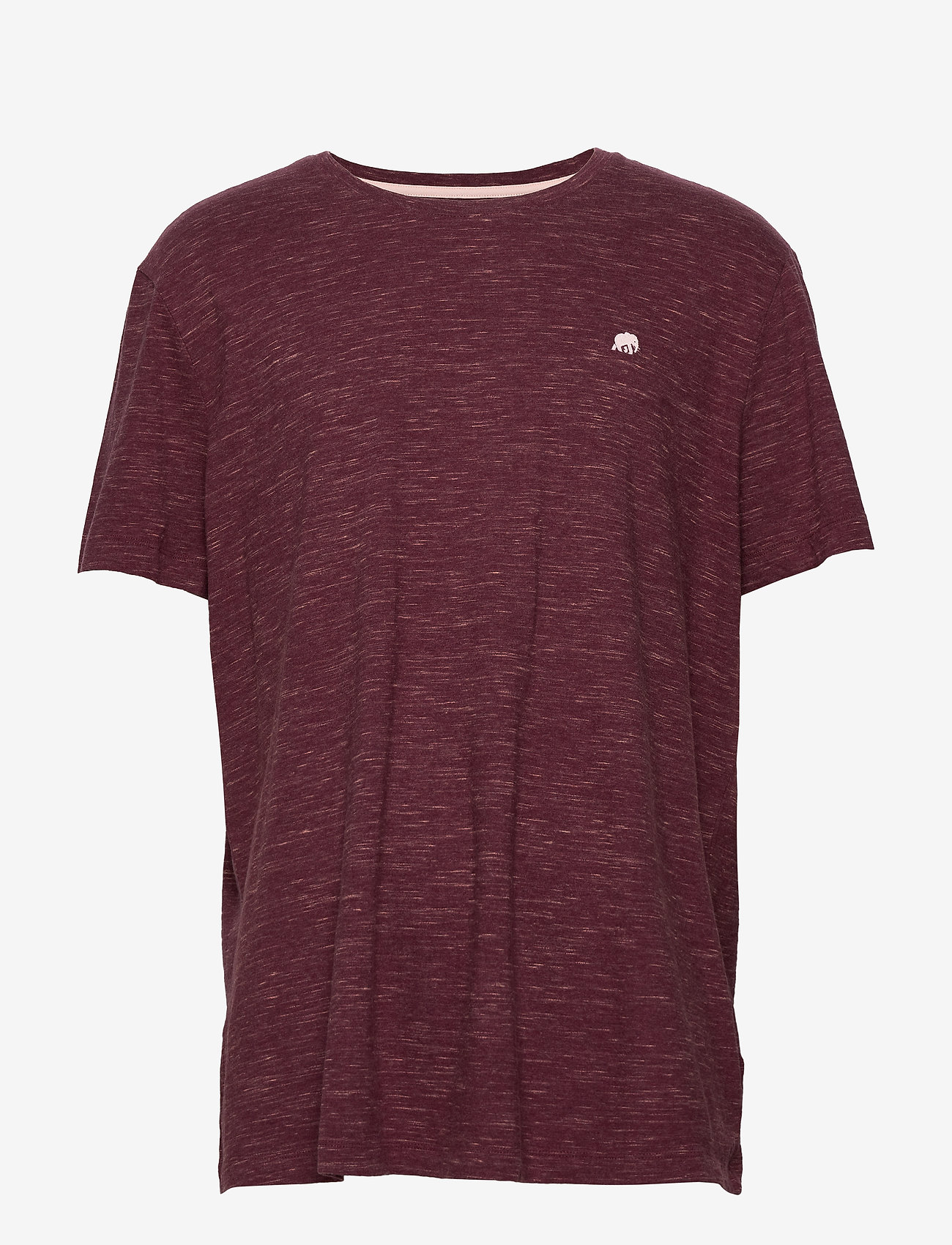 Banana Republic - I LOGO SOFTWASH ORGANIC TEE - basic t-shirts - dark maroon - 0