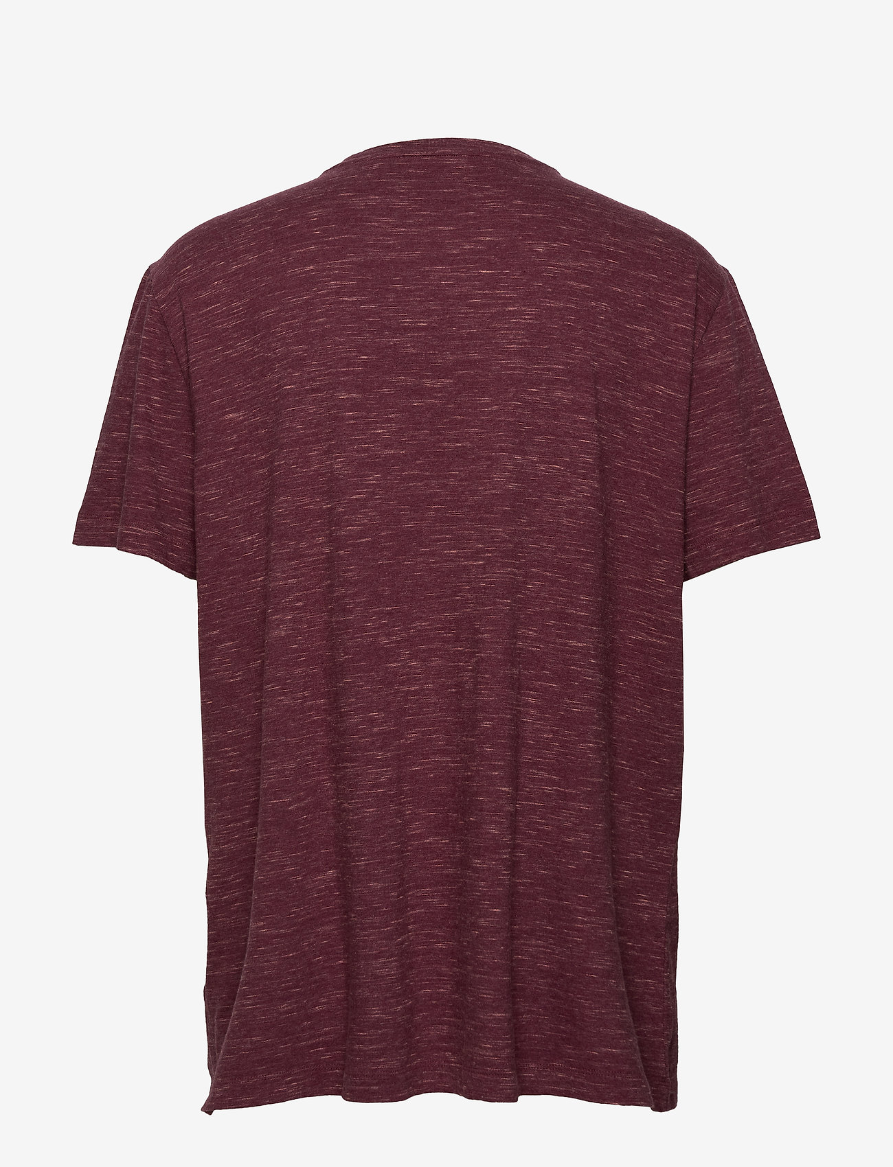 Banana Republic - I LOGO SOFTWASH ORGANIC TEE - basic t-shirts - dark maroon - 1