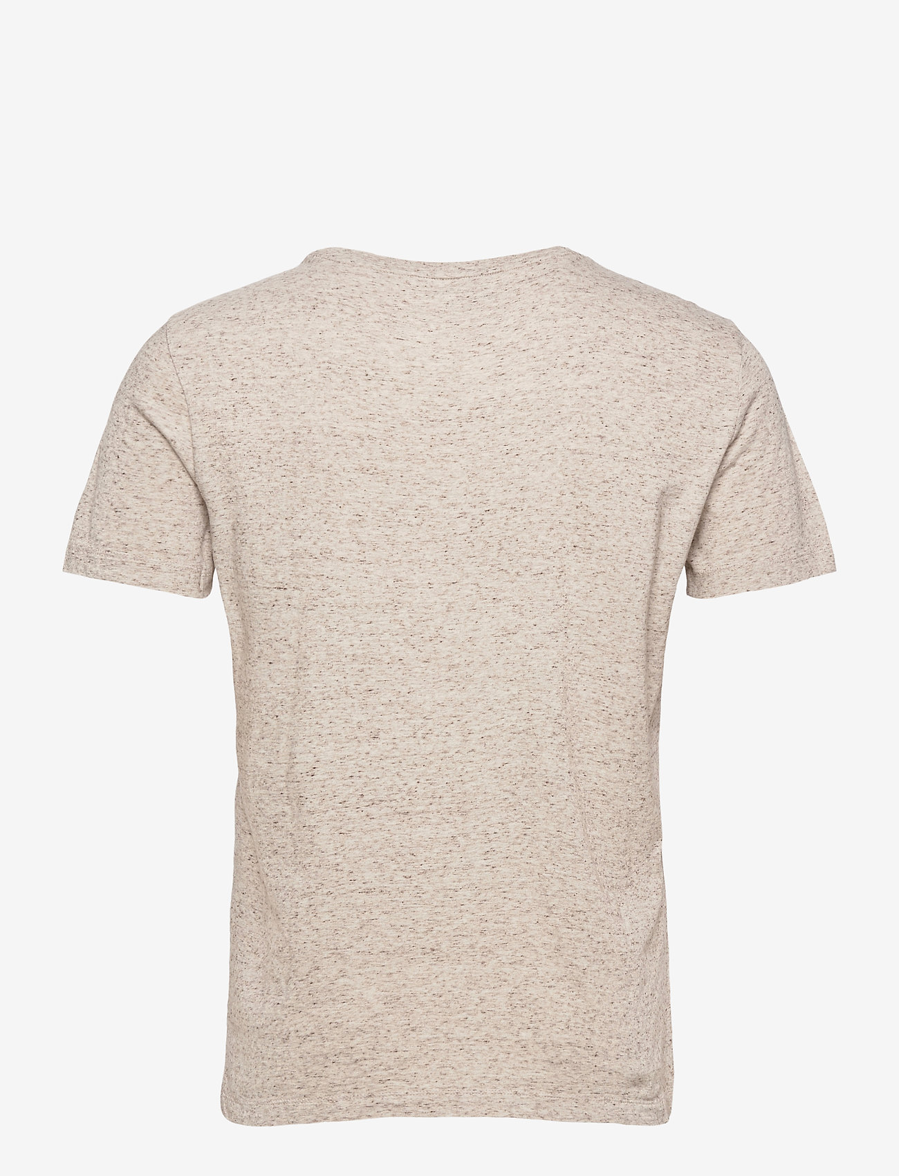Banana Republic - I LOGO SOFTWASH ORGANIC TEE - basic t-shirts - oatmeal htr b0279 - 1