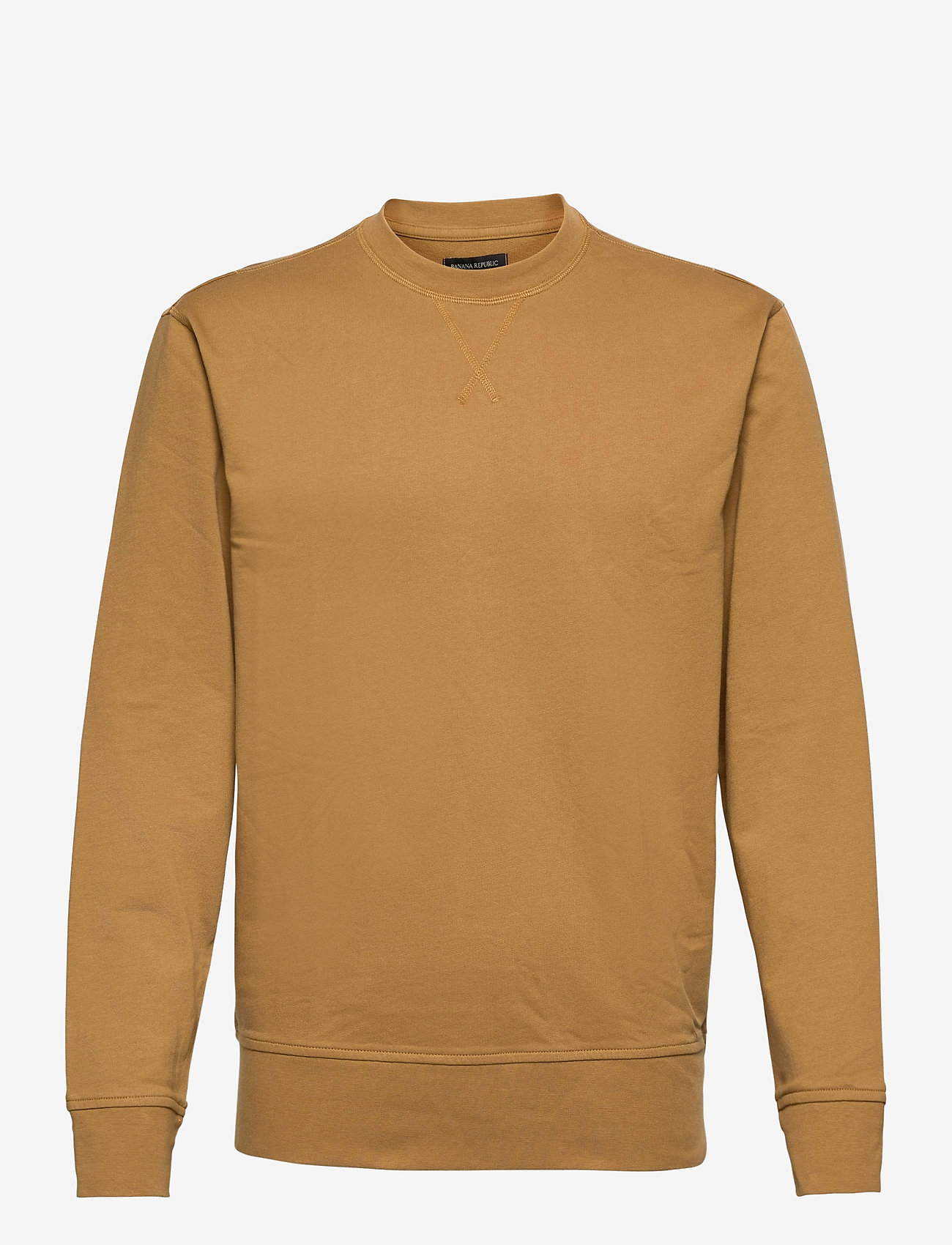 Banana Republic - Core Temp Terry Sweatshirt - basic sweatshirts - sahara tan - 0