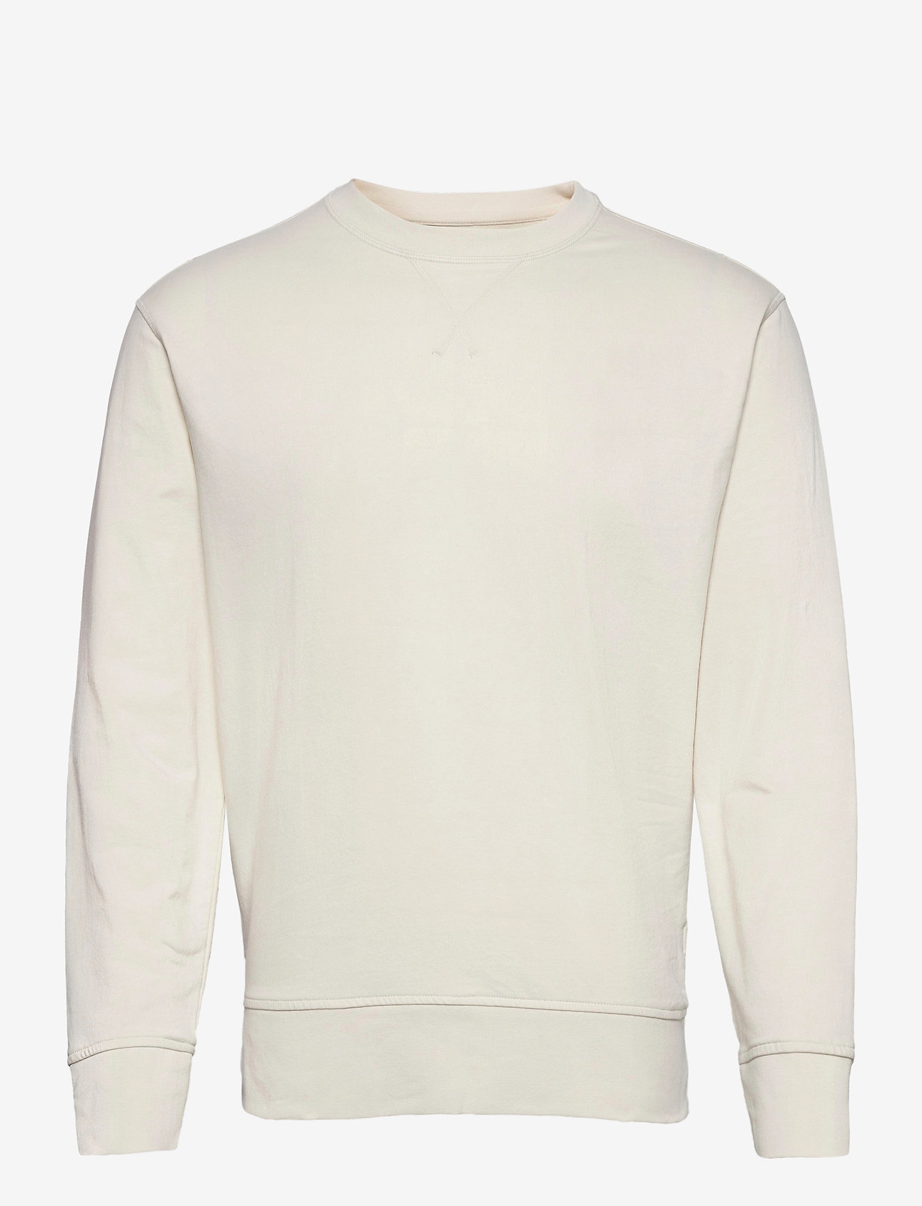 Banana Republic - Core Temp Terry Sweatshirt - basic sweatshirts - transition cream - 0