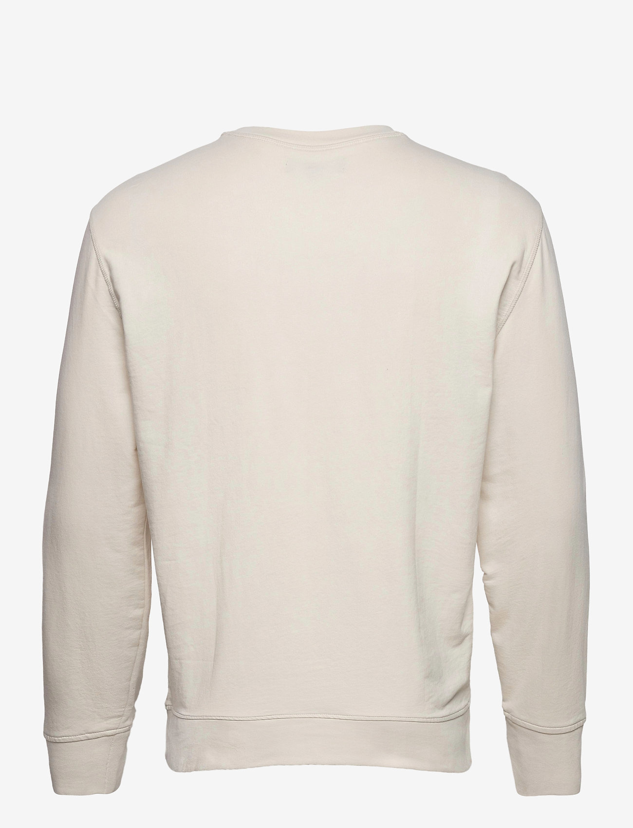 Banana Republic - Core Temp Terry Sweatshirt - basic sweatshirts - transition cream - 1