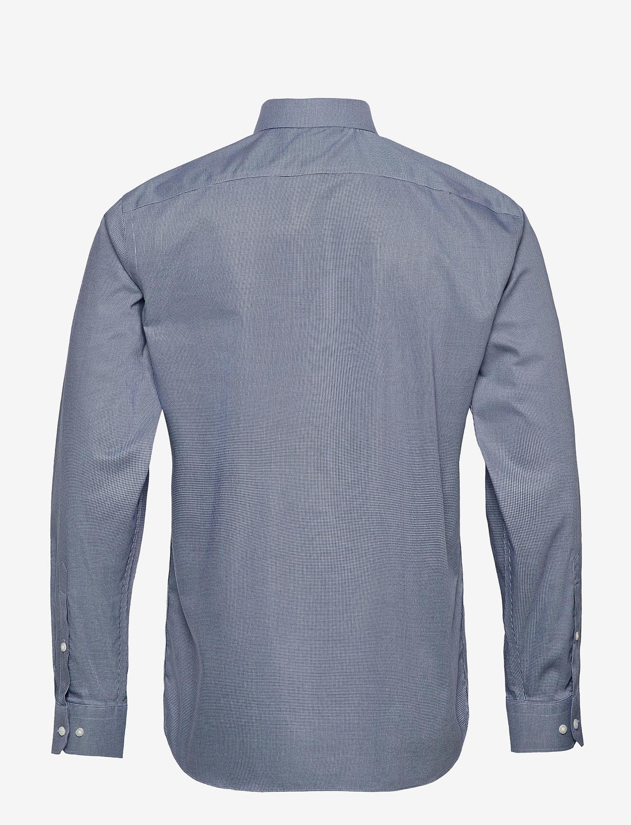 Banana Republic - I CA LOGO NI DOBBY - checkered shirts - elysian blue - 1