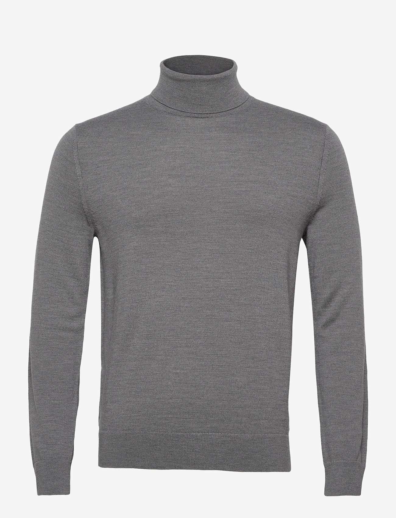 Banana Republic - Italian Merino Turtleneck Sweater - basic knitwear - harbor grey - 0