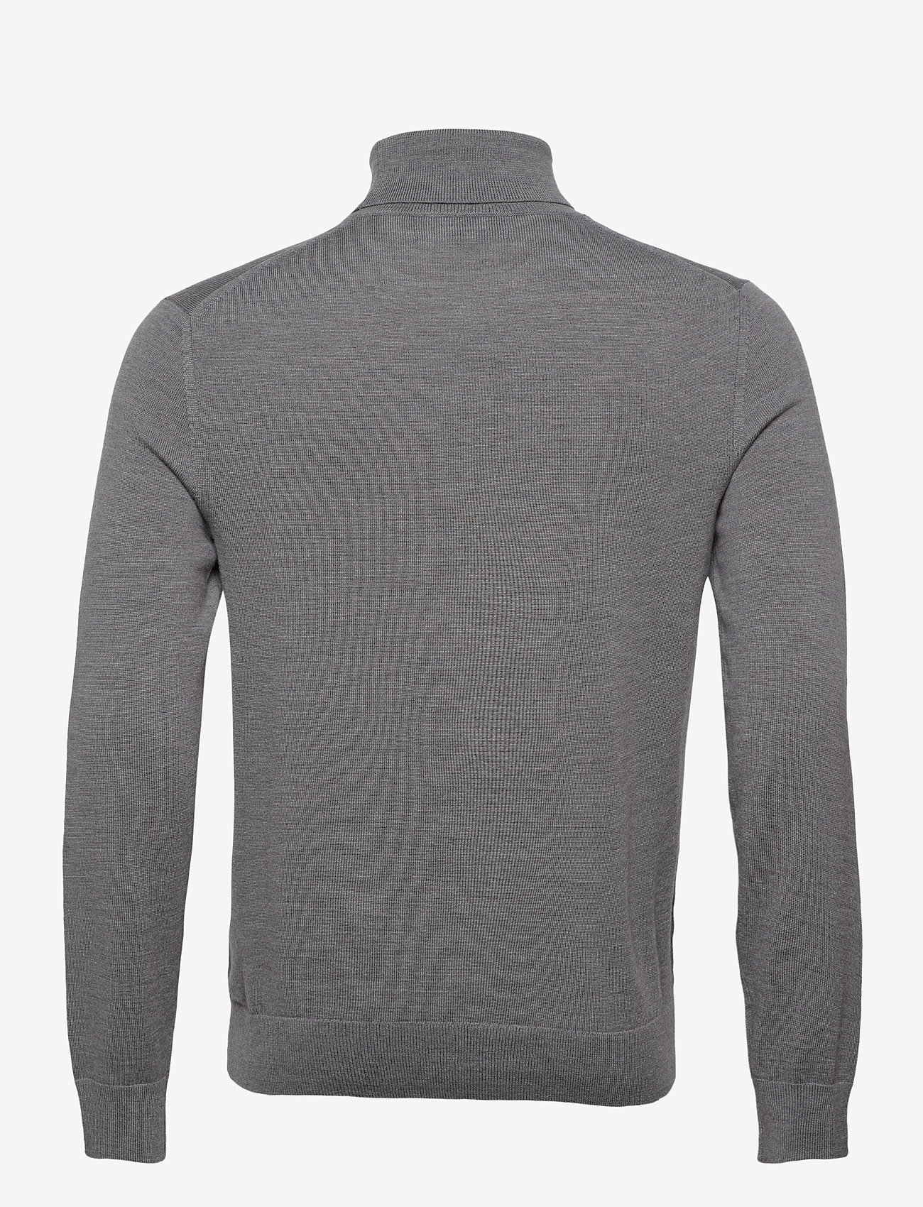 Banana Republic - Italian Merino Turtleneck Sweater - basic knitwear - harbor grey - 1