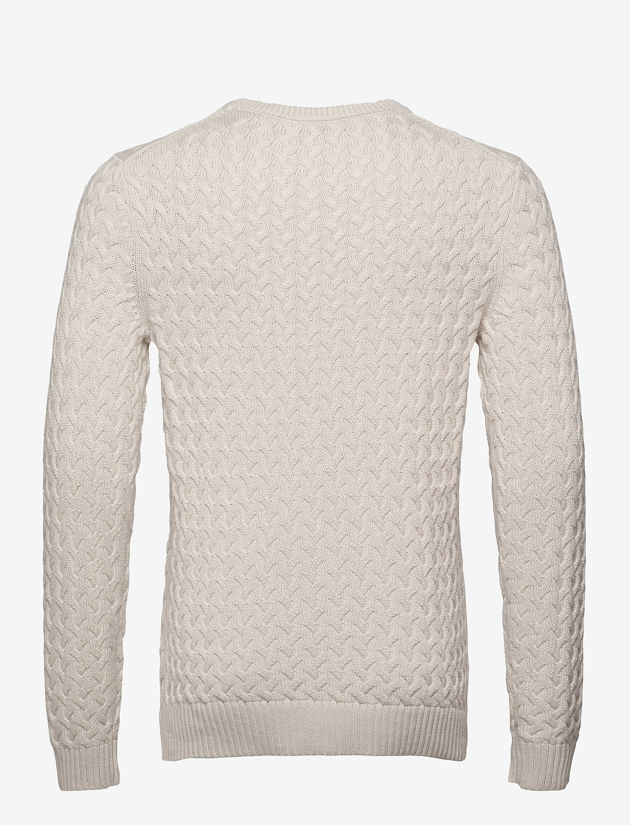 Banana Republic - SUPIMA® Cable-Knit Sweater - basic knitwear - transition cream - 1