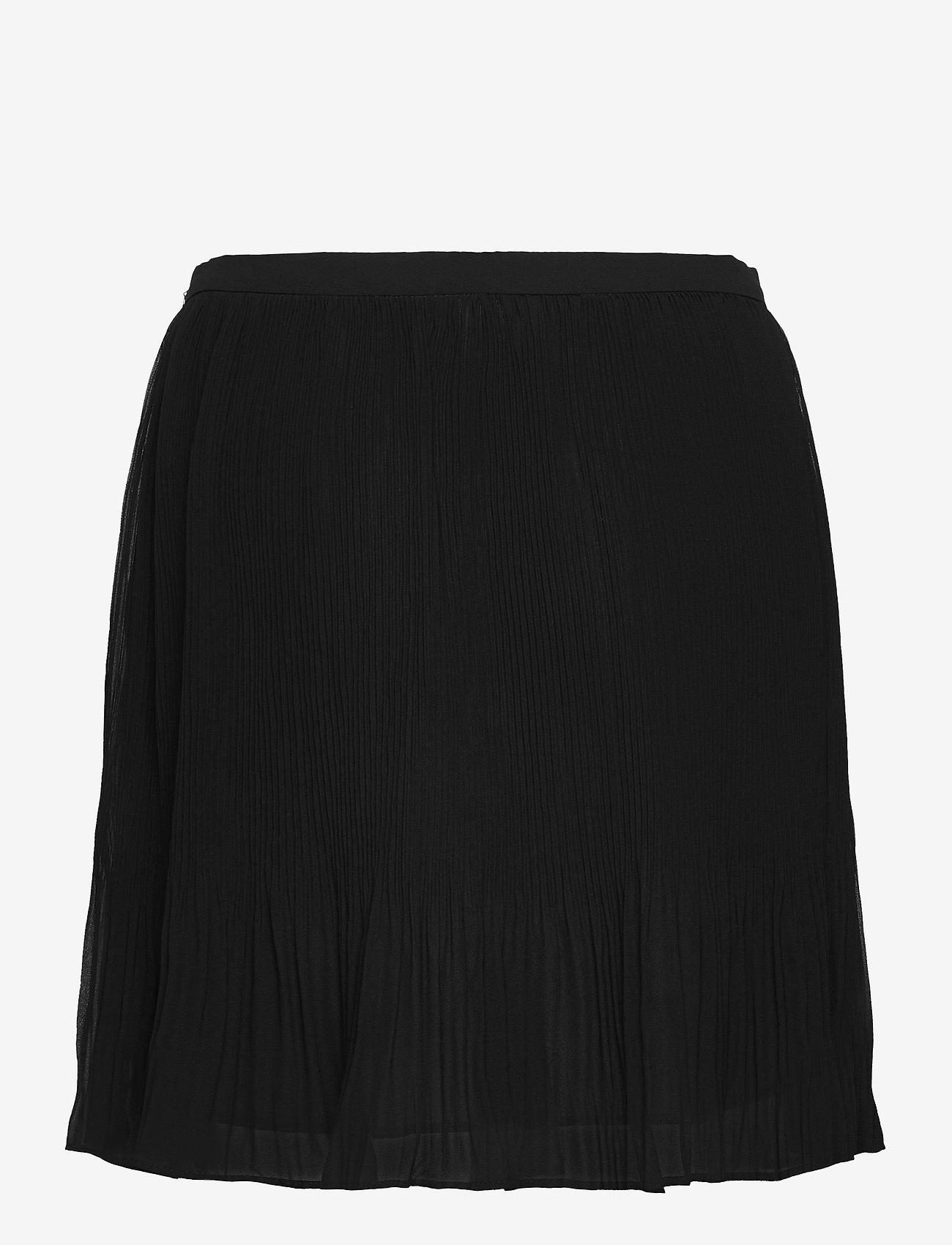 Banana Republic - Pleated Mini Skirt - short skirts - black k-100 - 1