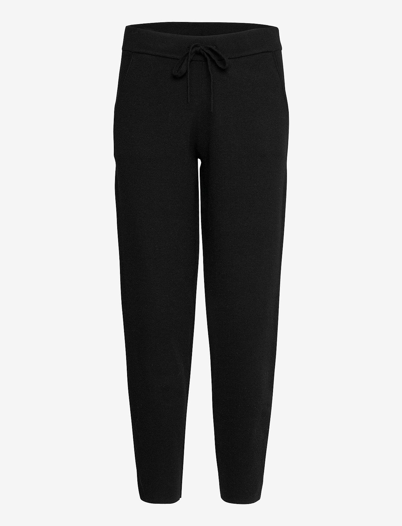 Banana Republic - Sweater Jogger - sweatpants - br black - 0