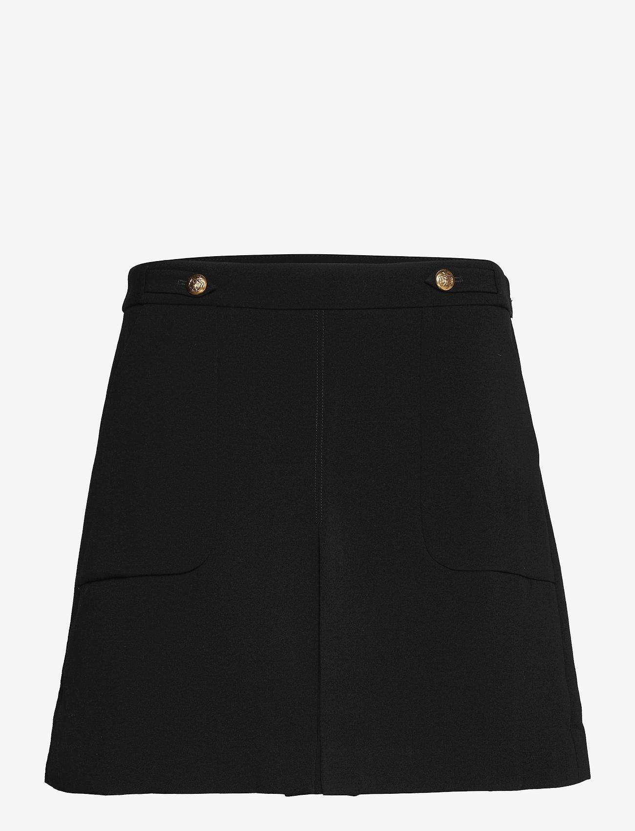 Banana Republic - Utility Mini Skirt - korta kjolar - black k-100 - 0