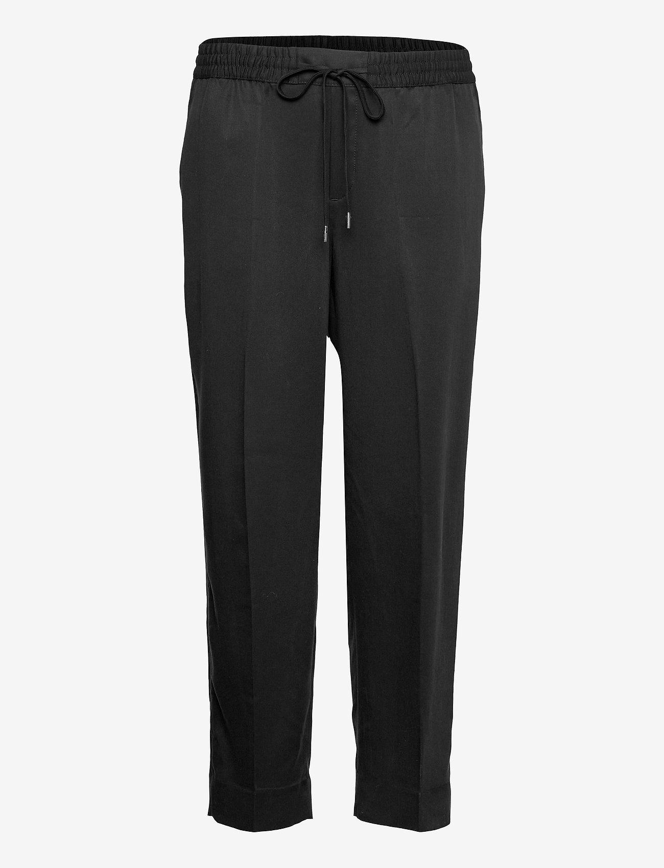 Banana Republic - Slim TENCEL™ Pant - pantalons casual - black - 0