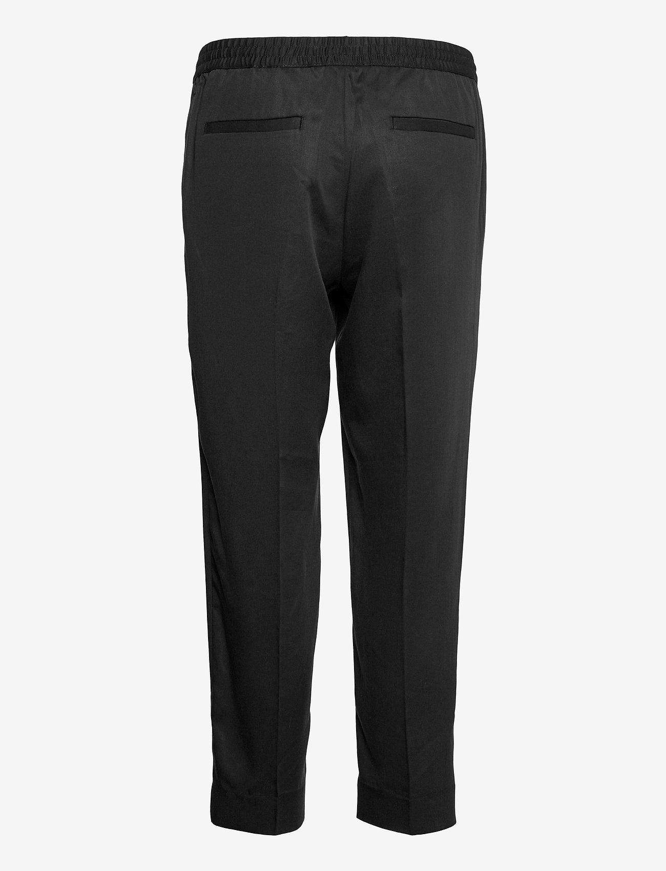 Banana Republic - Slim TENCEL™ Pant - pantalons casual - black - 1