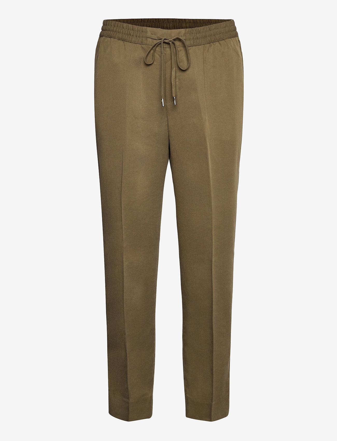 Banana Republic - Slim TENCEL™ Pant - casual trousers - heritage olive - 0