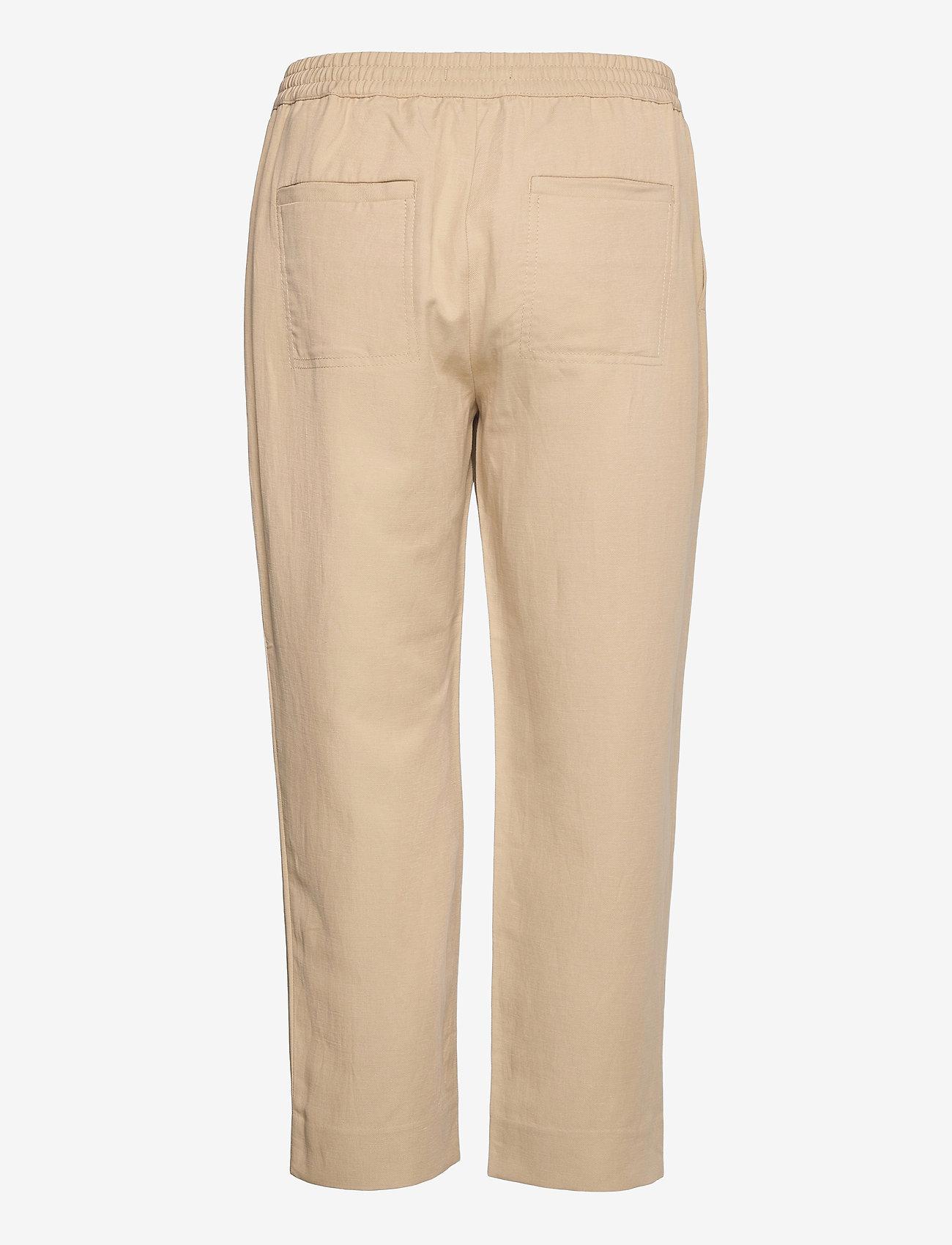 Banana Republic - Slim TENCEL™-Linen Pant - casual trousers - khaki - 1