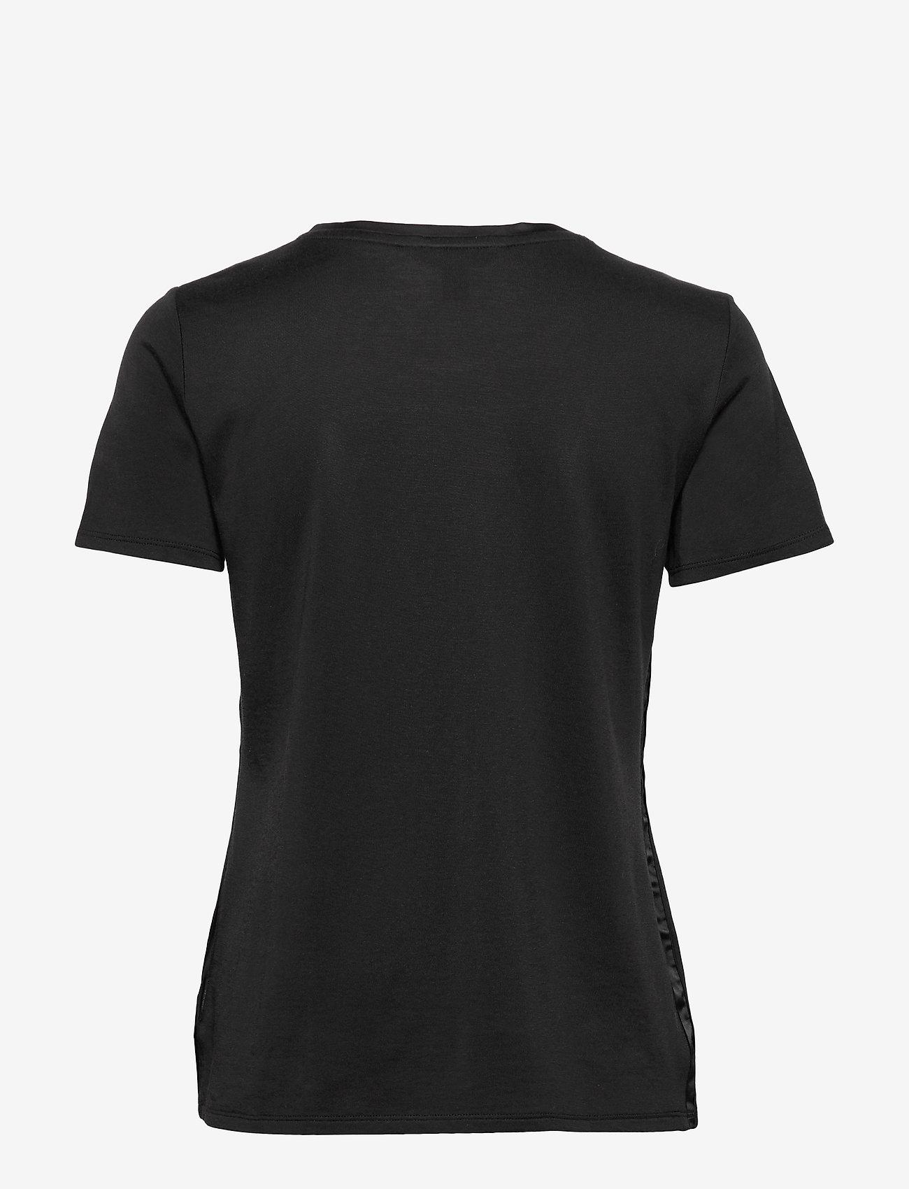 Banana Republic - I SS Elevated Tee - t-shirts - black - 1