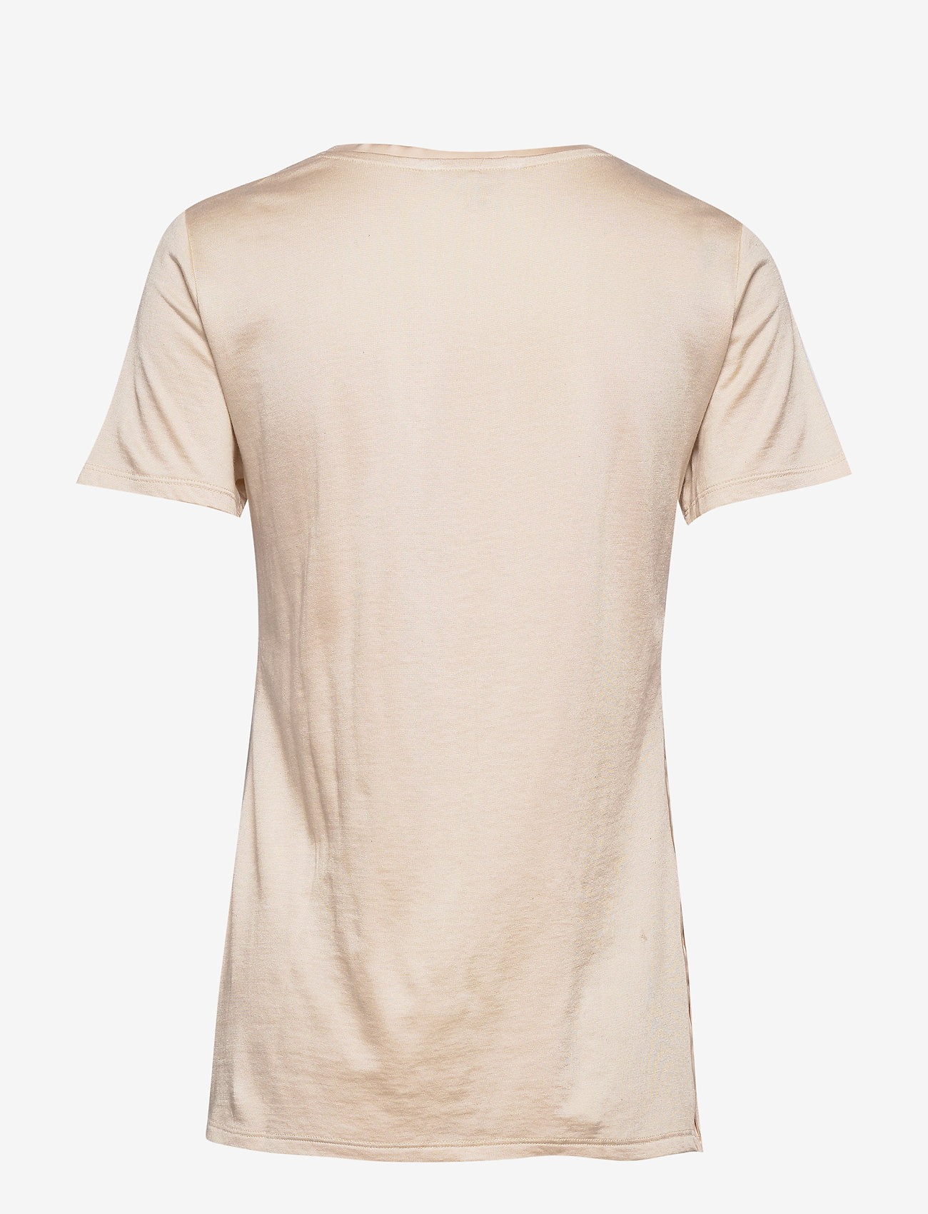 Banana Republic - I SS Elevated Tee - t-shirts - light ecru - 1