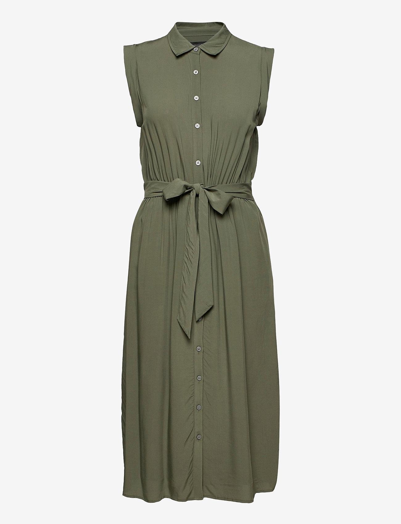 Banana Republic - LENZING™ ECOVERO™ Shirtdress - summer dresses - flight jacket - 0