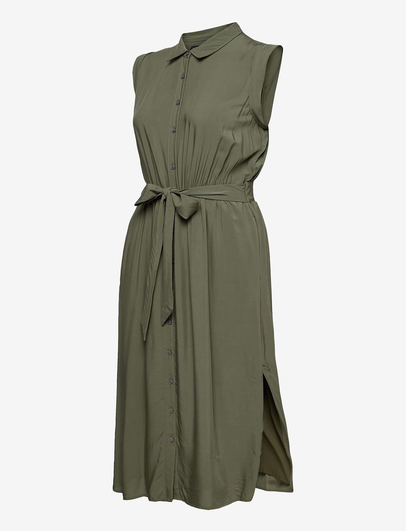Banana Republic - LENZING™ ECOVERO™ Shirtdress - summer dresses - flight jacket - 3