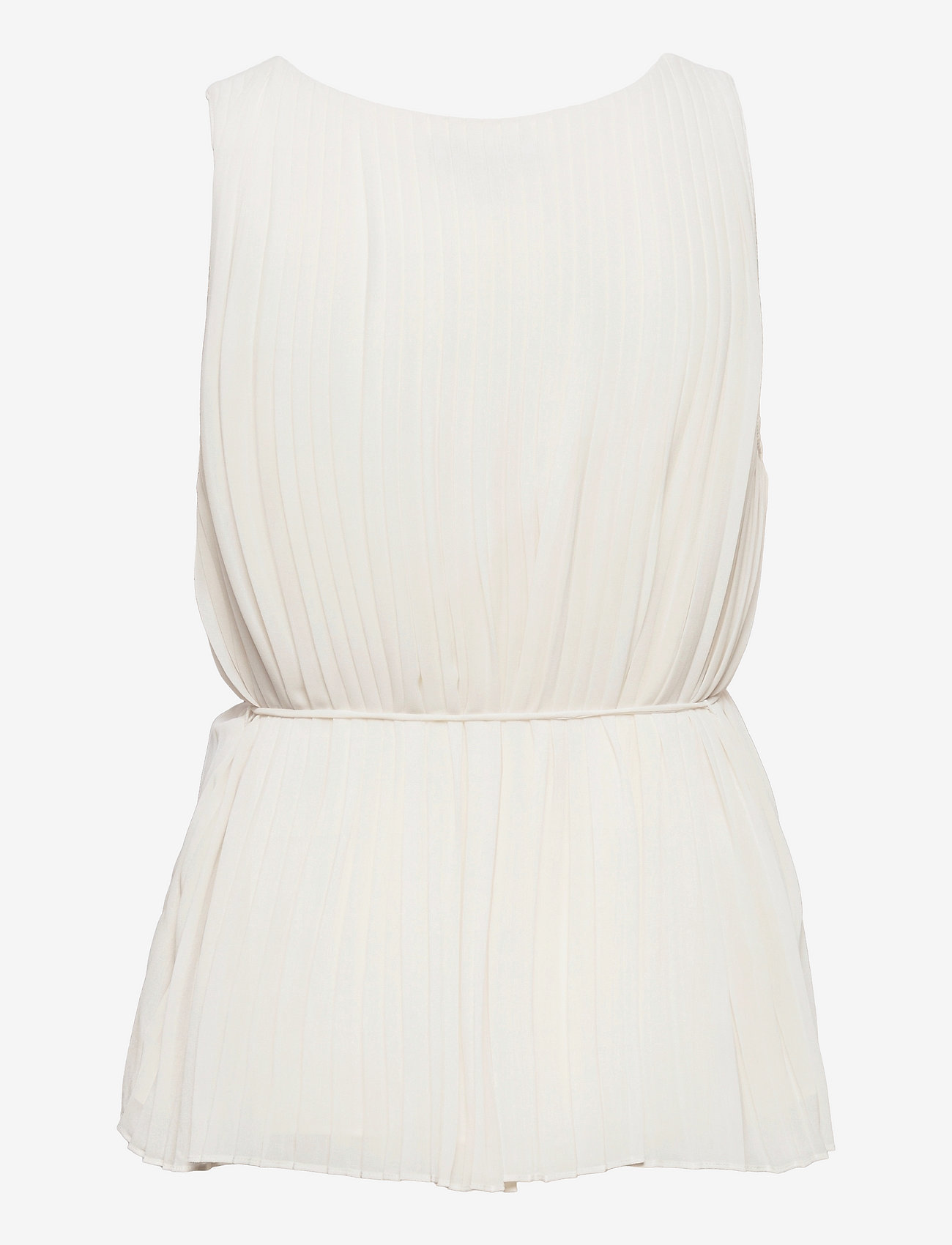 Banana Republic - Pleated Top - sleeveless blouses - snow day - 1