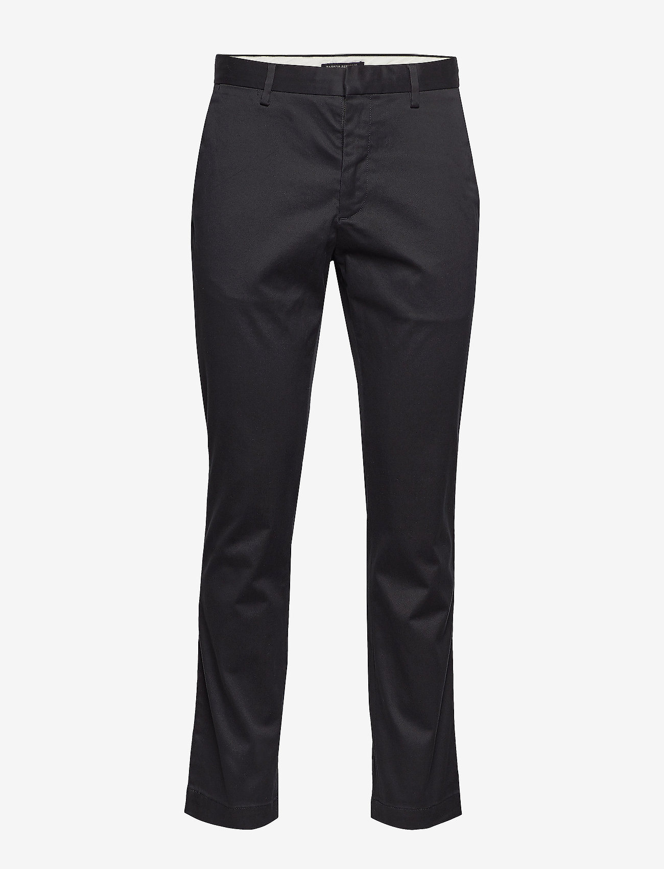 Banana Republic - Aiden Slim Rapid Movement Chino - chinos - black - 0