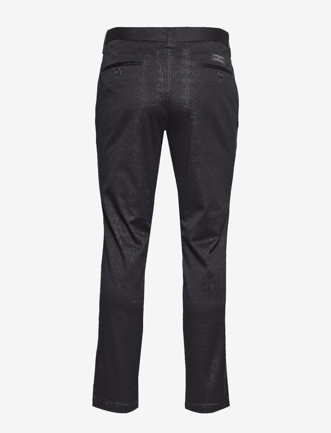 Banana Republic - Aiden Slim Rapid Movement Chino - chinos - black - 1