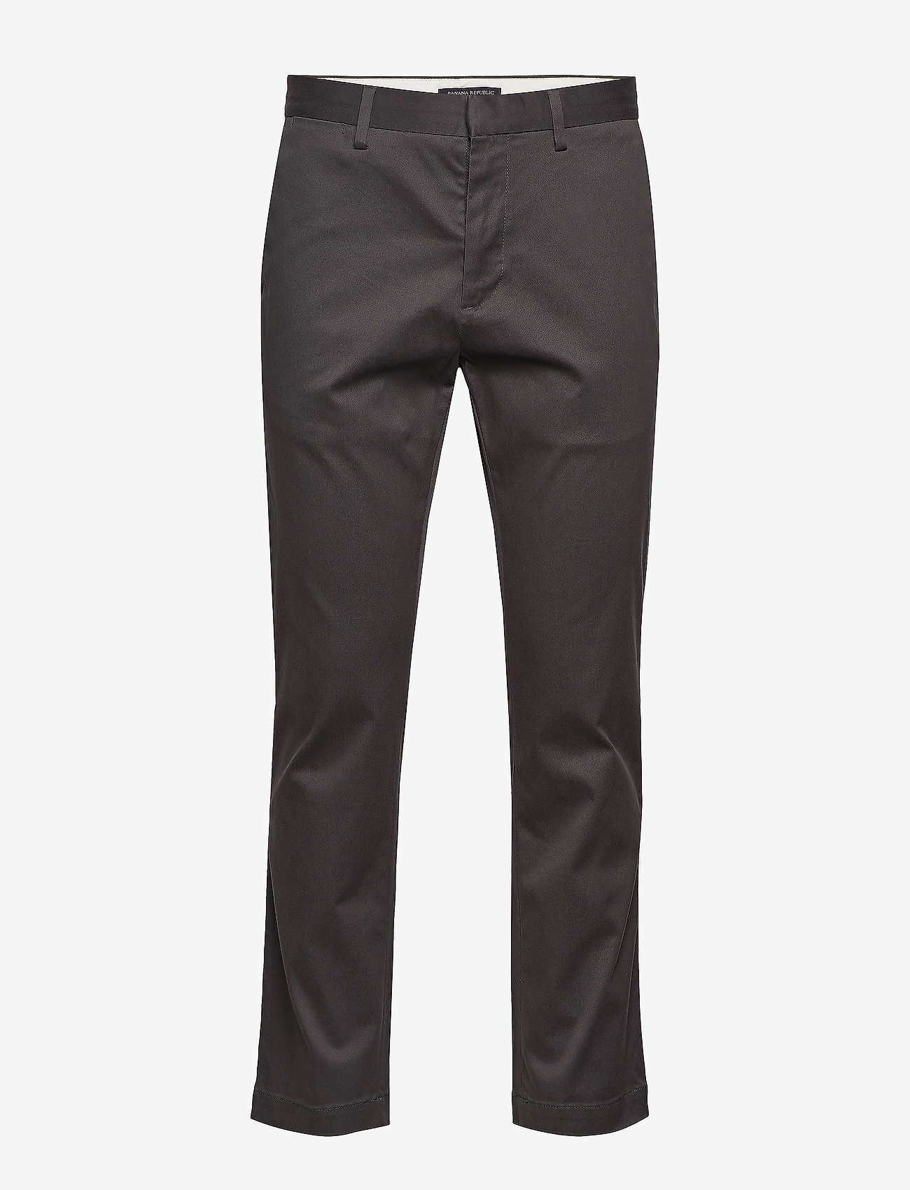 Banana Republic - Aiden Slim Rapid Movement Chino - chinos - charcoal 1 - 0
