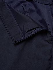 Banana Republic - Washable Italian Wool-Blend Pencil Skirt with Side Slit - midi skirts - navy - 3