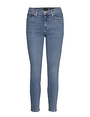 Mid-Rise Skinny Ankle Jean - LIGHT WASH