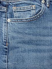 Banana Republic - High-Rise Wide-Leg Cropped Jean - broeken met wijde pijpen - medium blue vintage - 2