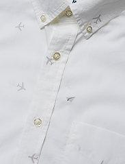 Banana Republic - Standard-Fit Luxe Poplin Shirt - oxford-paidat - plein air 13-4111 tcx - 3