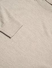 Banana Republic - Italian Merino Turtleneck Sweater - perusneuleet - light oatmeal heather - 2
