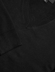 Banana Republic - Italian Merino V-Neck Sweater - perusneuleet - black - 2