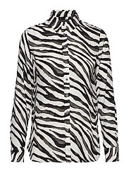 Dillon Classic-Fit Shirt - VZEBRA PRINT