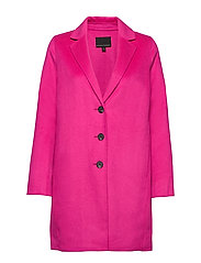 Double-Faced Topcoat - HOT BRIGHT PINK