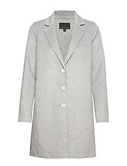 Double-Faced Topcoat - LIGHT GREY