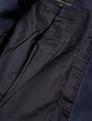 Banana Republic - Vegan Suede Biker Jacket - leather jackets - navy - 6