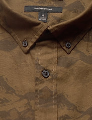 Banana Republic - Untucked Slim-Fit Flannel Shirt - oxford shirts - brown - 3