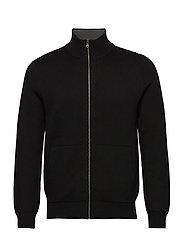 Sweater Jacket - BLACK