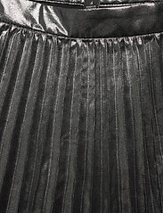 Banana Republic - Metallic Pleated Midi Skirt - midi skirts - dark charcoal - 3