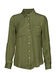 Dillon Classic-Fit Utility Shirt - ORGANIC OLIVE