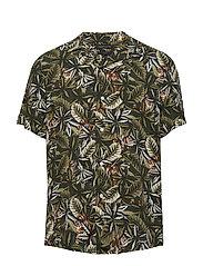 Slim Soft Resort Shirt - OLIVE