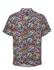 Slim Soft Resort Shirt - SAUCY RED