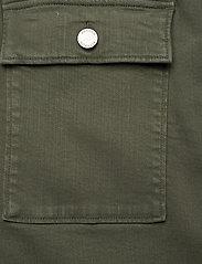 Banana Republic - Denim Utility Midi Skirt - maxi skirts - dark olive 629 - 2